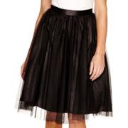 Blu Sage Tulle Skirt - Petite