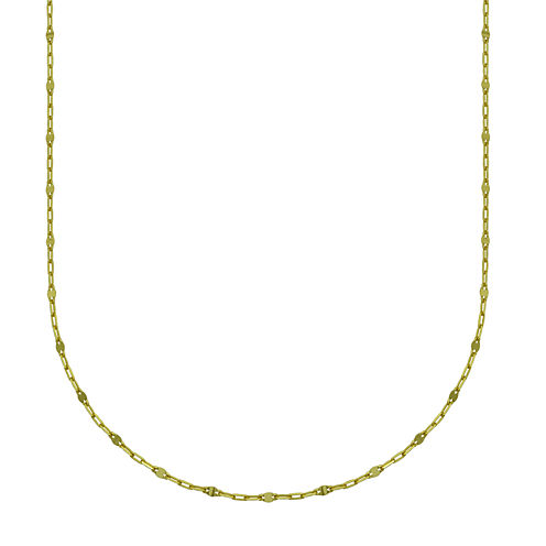 """14K Yellow Gold 18"""" Section Chain"""