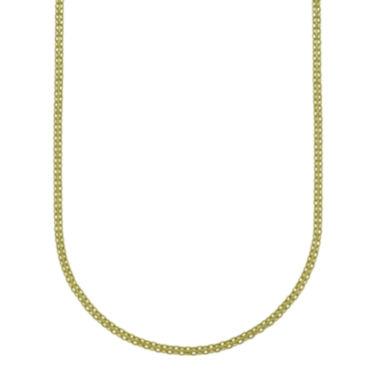 "jcpenney.com | 14K Yellow Gold 20"" Light Bismark Chain"