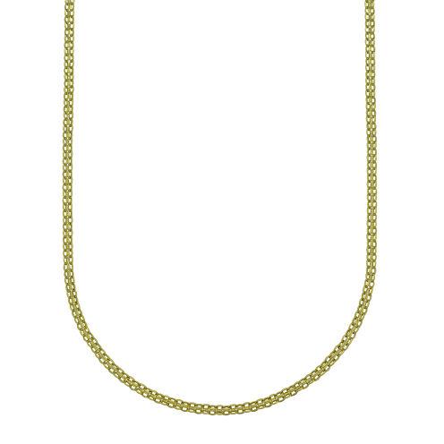 "14K Yellow Gold 20"" Light Bismark Chain"