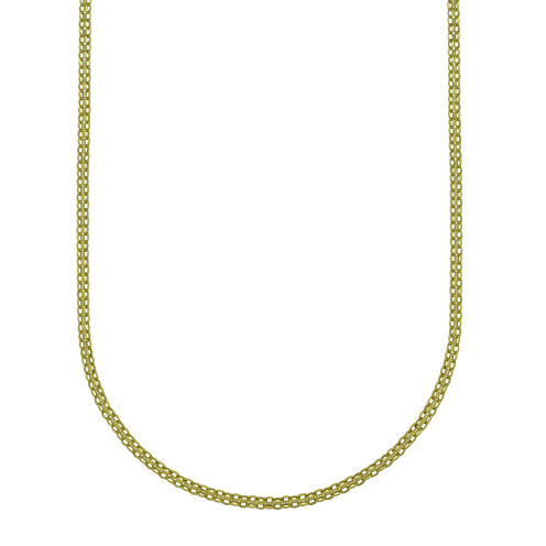 "14K Yellow Gold 22"" Light Bismark Chain"