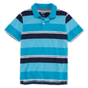 Arizona Striped Piqué Polo - Boys 8-20 and Husky