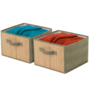 Honey-Can-Do® Set of 2 Storage Drawers