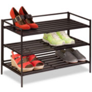 Honey-Can-Do® 3-Tier Shoe Rack