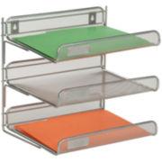Honey-Can-Do® 3-Tier Desk Organizer
