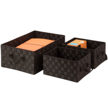 jcpenney.com | Honey-Can-Do® 3-pc. Woven Basket Set