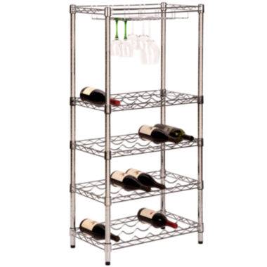 jcpenney.com | Honey-Can-Do® 5-Tier Wine Rack