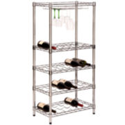Honey-Can-Do® 5-Tier Wine Rack