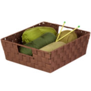 Honey-Can-Do® Set of 2 Woven Trays