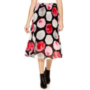 Worthington® Printed Midi Skirt