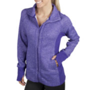 Jockey® Melange Fleece Jacket