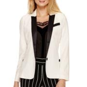 Worthington® Long-Sleeve Tuxedo Blazer - Tall