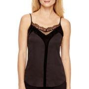 Worthington® Lace-and-Velvet Cami