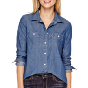 Levi's® Long-Sleeve Chambray Denim Shirt