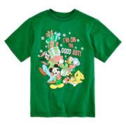 Disney Collection Fab 4 Christmas Tee - Boys 2-12