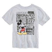 Disney Collection Mickey Mouse Name Tee - Boys 2-12