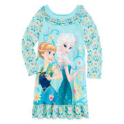 Disney Collection Frozen Fever Nightgown - Girls 2-10