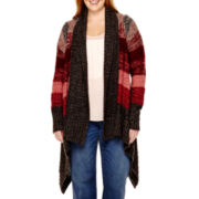 a.n.a® Long-Sleeve Blanket Flyaway Cardigan - Plus