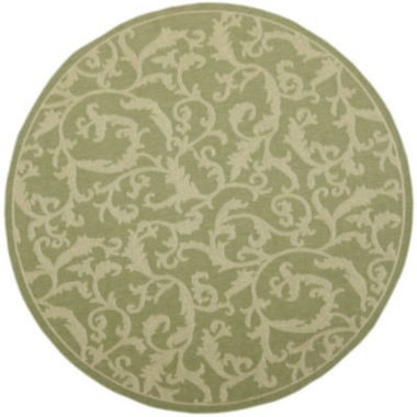 jcpenney.com | Courtyard Scrolls Indoor/Outdoor Round Rugs