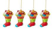 MarthaHoliday™ The Night Before Christmas Set of 4 2013 Christmas Ornaments