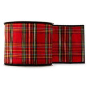 MarthaHoliday™ The Night Before Christmas Plaid Ribbon