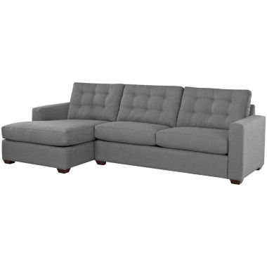 jcpenney.com | Midnight Slumber 2-pc. Sectional - Right-Arm Sofa, Left-Arm Chaise