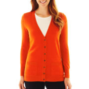 Liz Claiborne Essential Cardigan Sweater