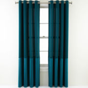 Royal Velvet® Reid Grommet-Top Curtain Panel