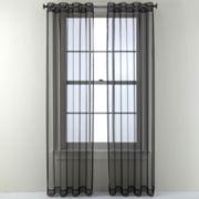 Studio™ Open and Shut Grommet-Top Sheer Curtain Panel