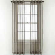 Studio™ Open and Shut Grommet-Top Sheer Panel