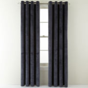Royal Velvet® Augusta Velvet Window Curtain Panel