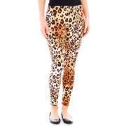 Mixit™ Leopard Print Knit Leggings