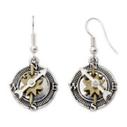 Arizona Compass Drop Earrings