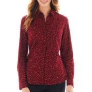 St. John's Bay® Flannel Shirt - Tall