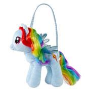 My Little Pony Rainbow Dash Plush Handbag - Girls