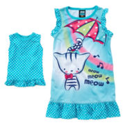 Jelli Fish Kids My Doll Sleep Shirt - Girls 2t-4t