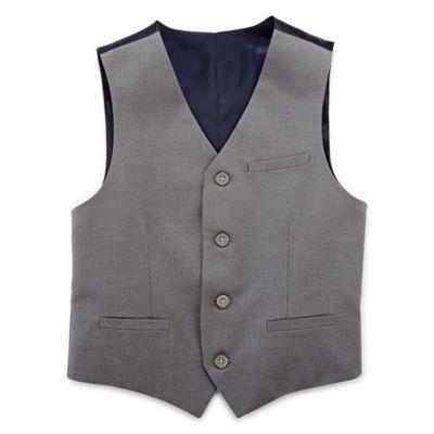 IZOD® Sharkskin Suit Vest Separate - Boys 8-20