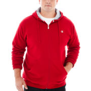 Champion® Fleece Full-Zip Hoodie–Big & Tall