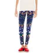 Reindeer Ugly Holiday Leggings