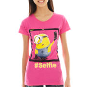 Despicable Me Short-Sleeve Minion Selfie Graphic Tee
