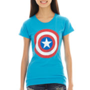 Marvel® Captain America Short-Sleeve Shield Graphic Tee