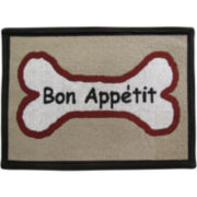 PB Paws by Park B. Smith® Bone Appetite Tapestry Pet Mat