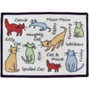 PB Paws by Park B. Smith™ Cat Show Tapestry Pet Mat