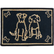 PB Paws by Park B. Smith® Dog Friends Tapestry Pet Mat
