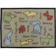 PB Paws by Park B. Smith™ Dog Show Tapestry Pet Mat