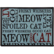 PB Paws by Park B. Smith™ Good Cat Tapestry Pet Mat