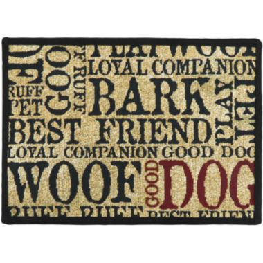 jcpenney.com | PB Paws by Park B. Smith® Good Dog Tapestry Pet Mat