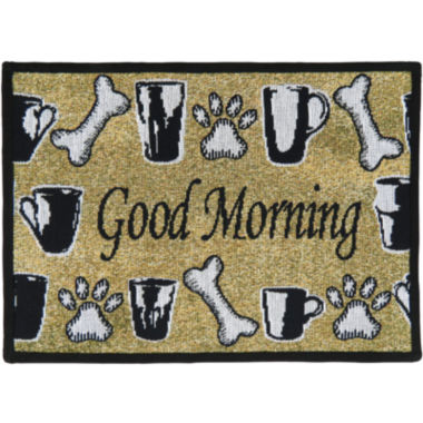 jcpenney.com | PB Paws by Park B. Smith® Good Morning Tapestry Pet Mat