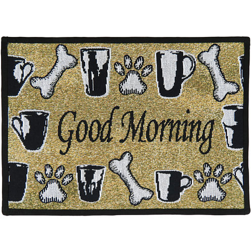 PB Paws by Park B. Smith® Good Morning Tapestry Pet Mat