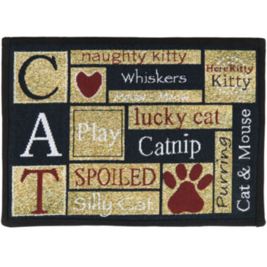 jcpenney.com | PB Paws by Park B. Smith® I Love Cats Tapestry Pet Mat